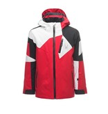 SPYDER BOY'S LEADER JACKET - RED/BLACK/WHITE