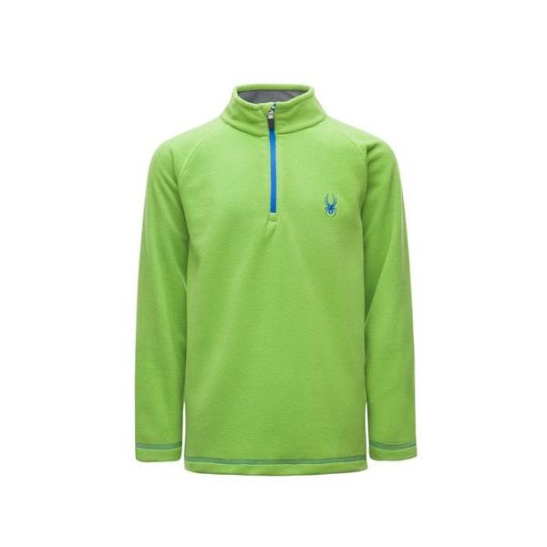 BOY'S SPEED FLEECE TOP - FRESH/TURKISH SEA