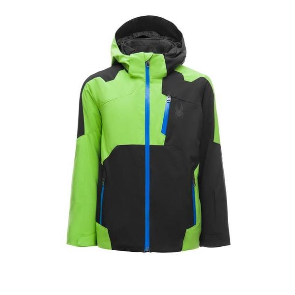 BOY'S SPEED JACKET - BLACK/FRESH/TURKISH SEA