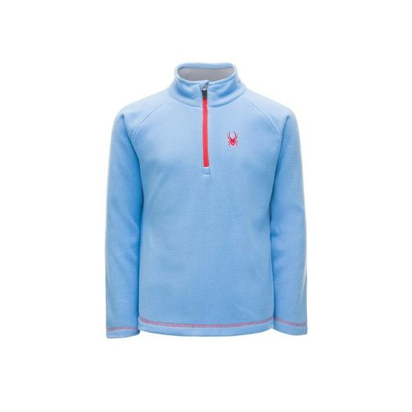 GIRL'S SPEED FLEECE TOP - BLUE ICE