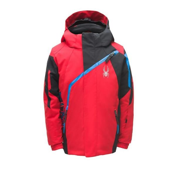 MINI CHALLENGER JACKET - RED/BLACK/FRENCH BLUE - SIZE 3 ONLY