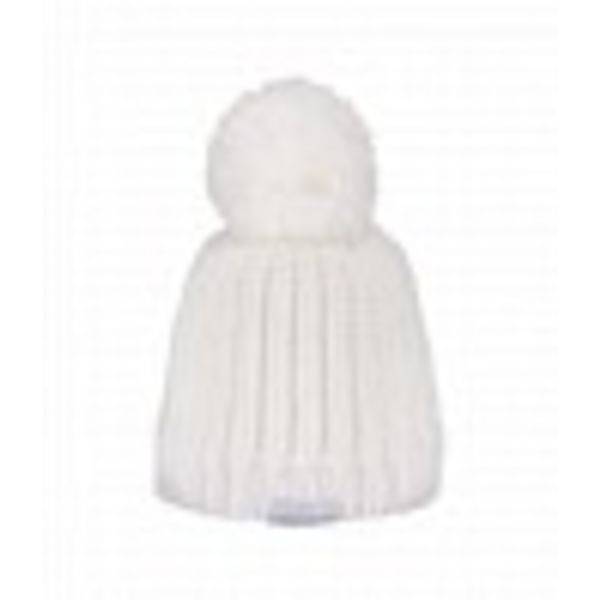 GIRLS LEE KNIT HAT - WHITE