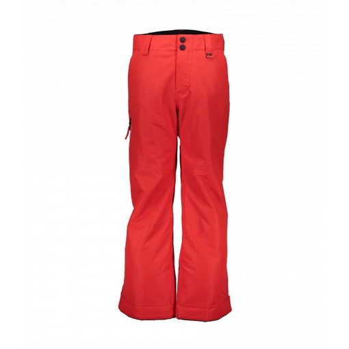 OBERMEYER JUNIOR BOYS BRISK PANT - RED