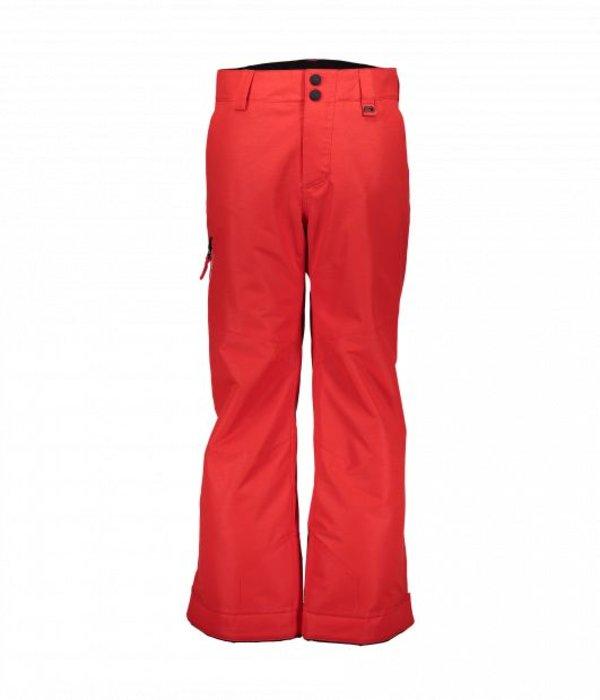 OBERMEYER JUNIOR BOYS BRISK PANT - RED - SIZE LARGE 14/16 ONLY
