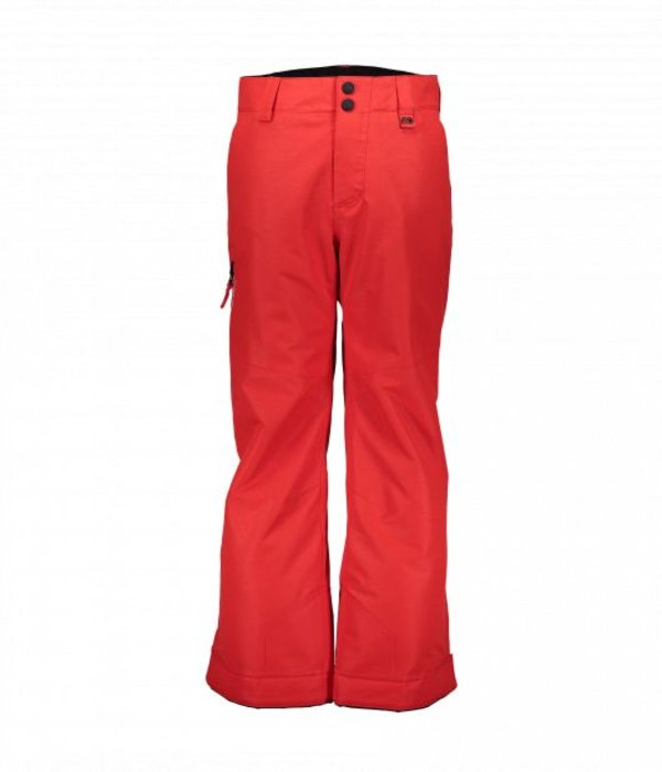 OBERMEYER JUNIOR BOYS BRISK PANT - RED