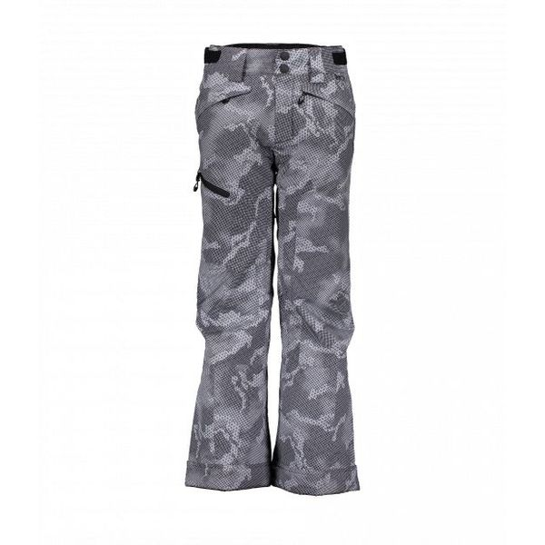 JUNIOR BOYS PARKER PANT - GREY BIT CAMO