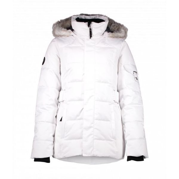 JUNIOR GIRLS TESS JACKET - WHITE