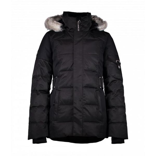 JUNIOR GIRLS TESS JACKET - BLACK
