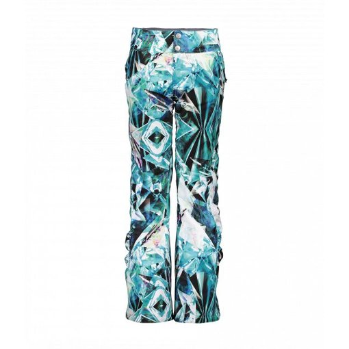 OBERMEYER JUNIOR GIRLS JESSI PANT - AQUA AURA - SIZE XLARGE (18) ONLY