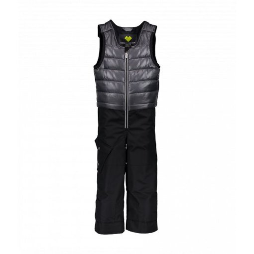 OBERMEYER PRESCHOOL BOYS CHILKAT BIB - EBONY