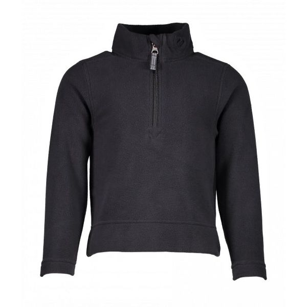 PRESCHOOL UNISEX ULTRA GEAR ZIP TOP - BLACK