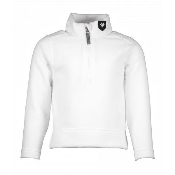 PRESCHOOL UNISEX ULTRA GEAR ZIP TOP - WHITE
