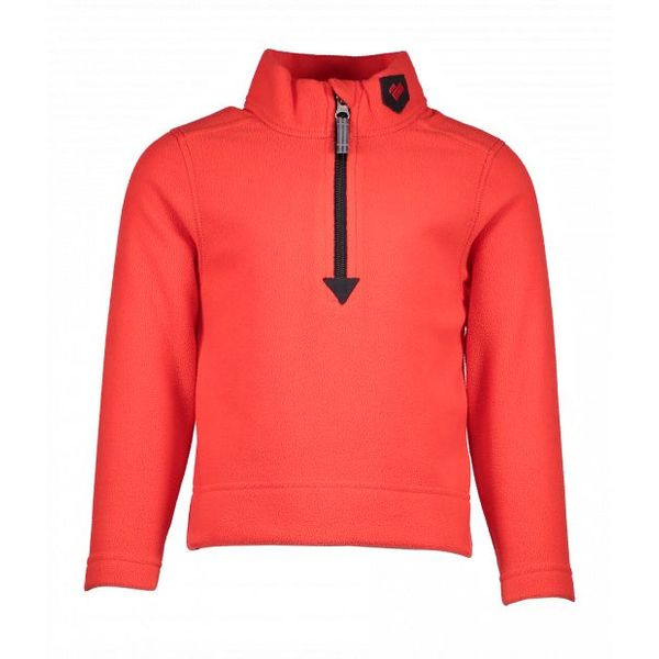 PRESCHOOL BOYS ULTRA GEAR ZIP TOP - RED