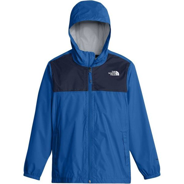 BOY'S ZIPLINE RAIN JACKET - TURKISH SEA