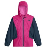 THE NORTH FACE GIRL'S ZIPLINE RAIN JACKET - PITCH PINK