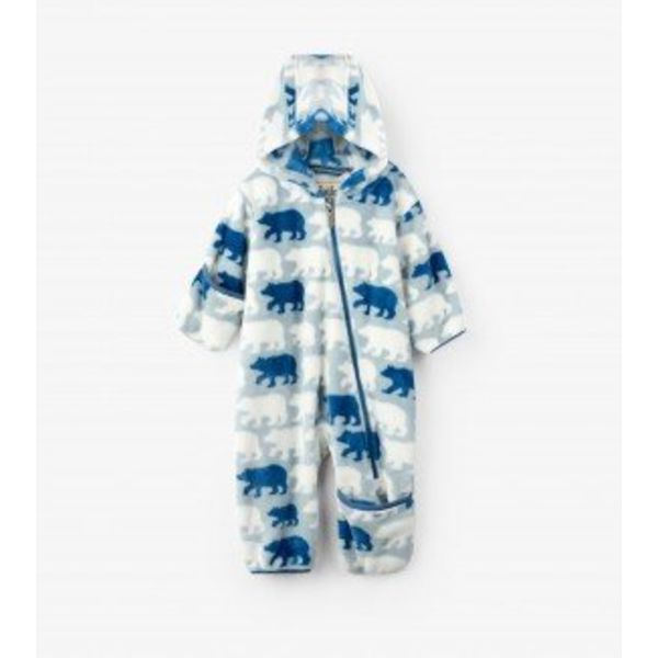 POLAR BEARS FUZZY FLEECE BUNDLER