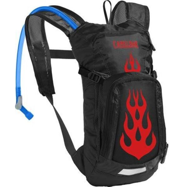 MINI MULE CAMELBAK - BLACK / FLAMES