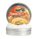 CRAZY AARONS AMBER GLOWS IN THE DARK THINKING PUTTY