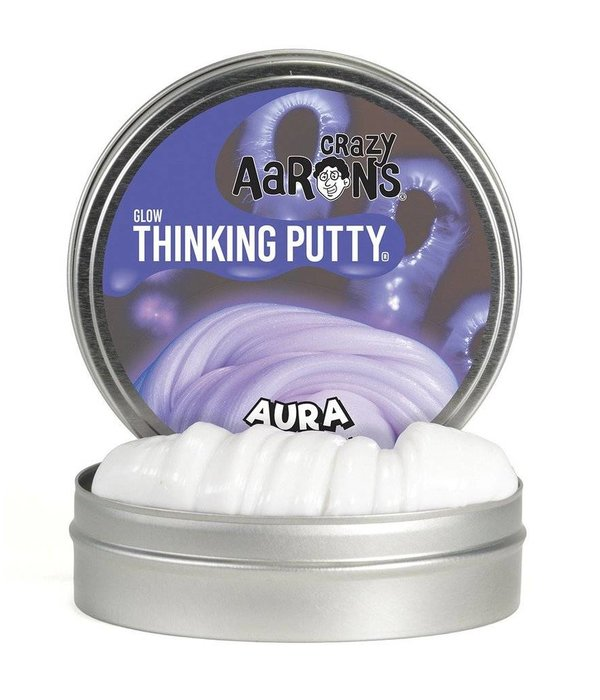 CRAZY AARONS AURA GLOWS IN THE DARK  THINKING PUTTY