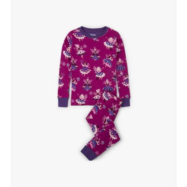 FAIRY SLEEPER ORGANIC PAJAMA SET - SIZE 3 ONLY