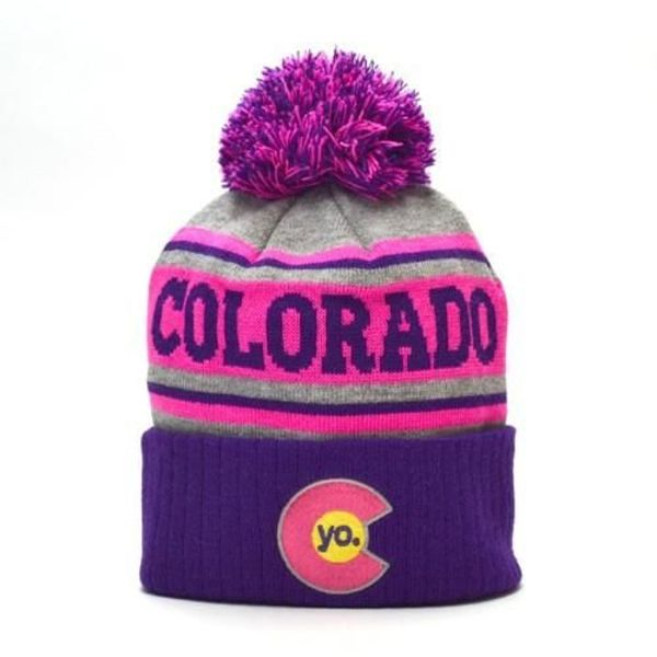ADULT GRAPE CRUSH BEANIE