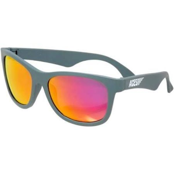 ACES NAVIGATOR SUNGLASSES - GALACTIC GRAY/PINK 6+ YEARS