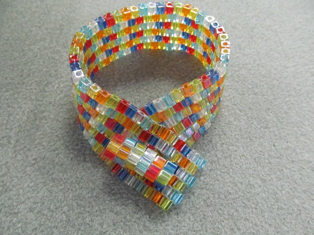 Joy Squared Bracelet Class Kit - Cube Beads