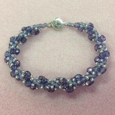 10/23 6-9p Spiraling Firepolished Bracelet