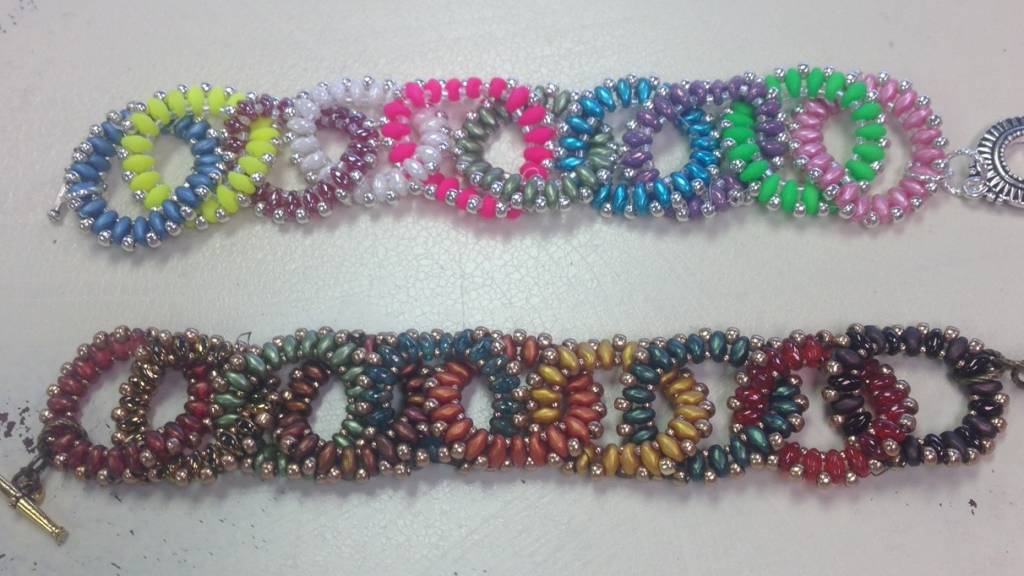 11/28 6-9pm Whirling Duos Bracelet