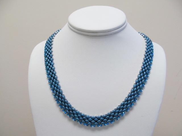 6/04 6-9pm Silky Elegance Necklace