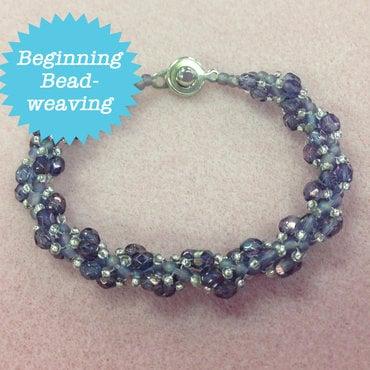 7/02 6-9pm Spiraling Firepolished Bracelet