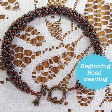8/06 6-9pm Peppered Netted Rope Bracelet