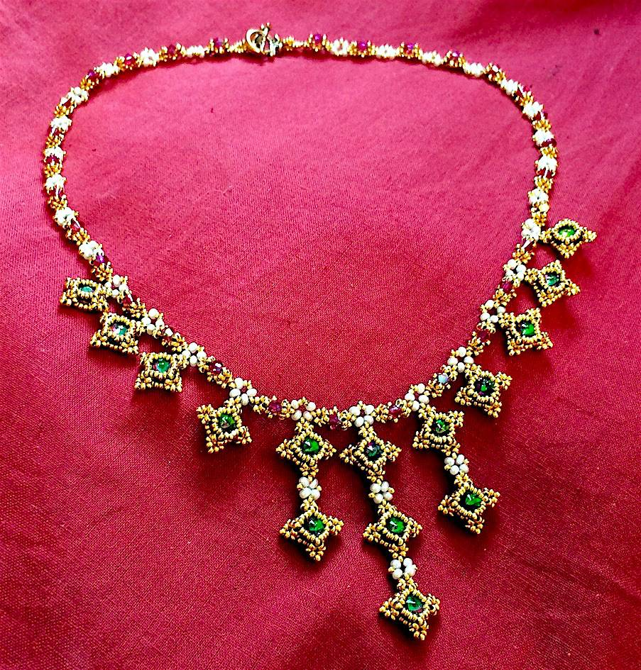 5/05 10a-4p Marie Antoinette Necklace WEBINAR with Melanie de Miguel