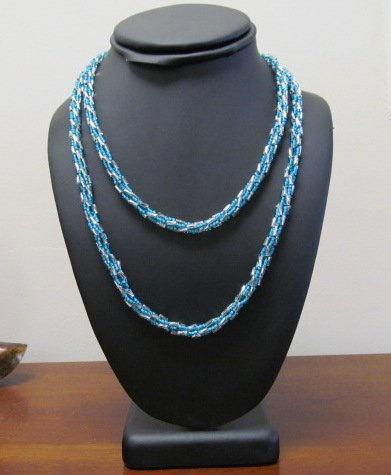 7/11 10a-1p Turkish Bead Crochet Necklace