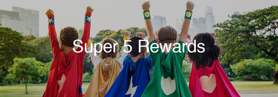 Super 5 Rewards Club