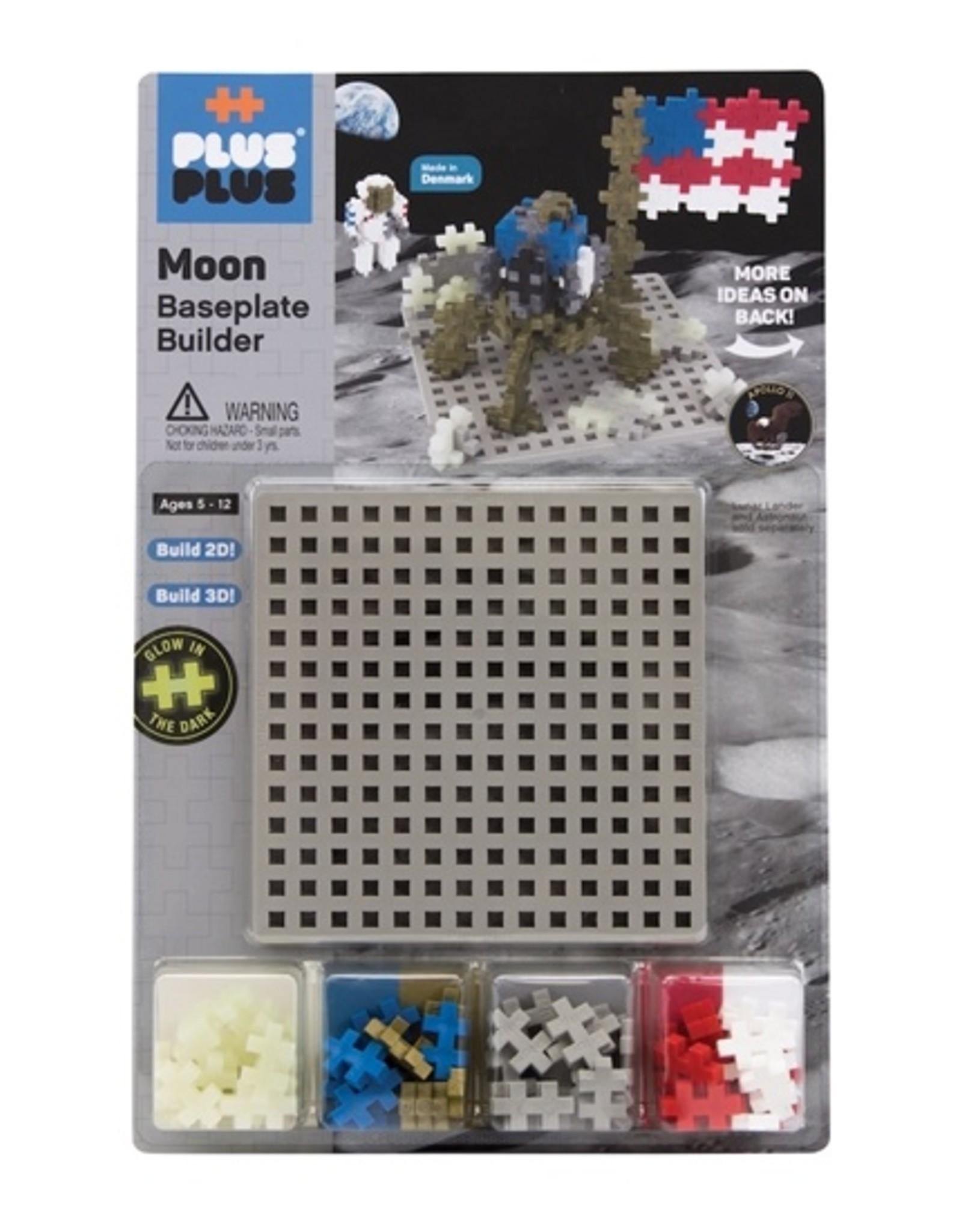 Plus-Plus Baseplate Builder - Moon