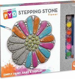 Mindware Paint Your Own: Stepping Stone: Flower