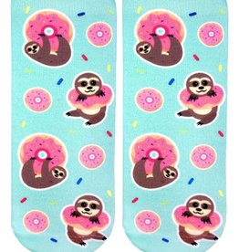 Living Royal Sloth Donut Ankle