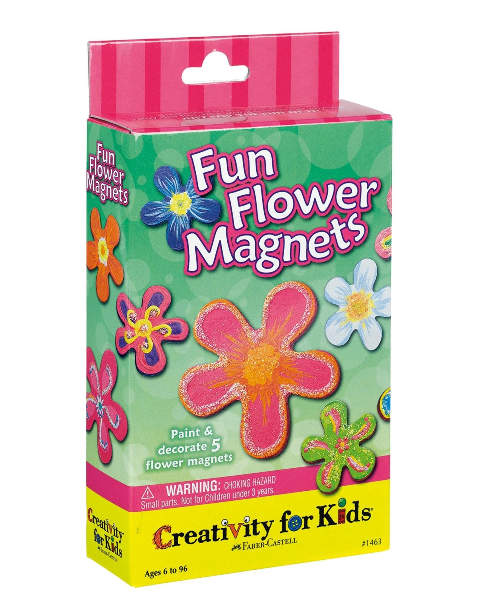 Faber Castell Fun Flower Magnets
