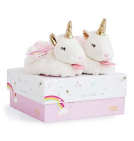 Hotaling Imports Unicorn Booties with Rattles