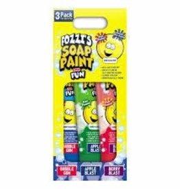 Fozzi's Fozzi's Soap Paint 3Pack