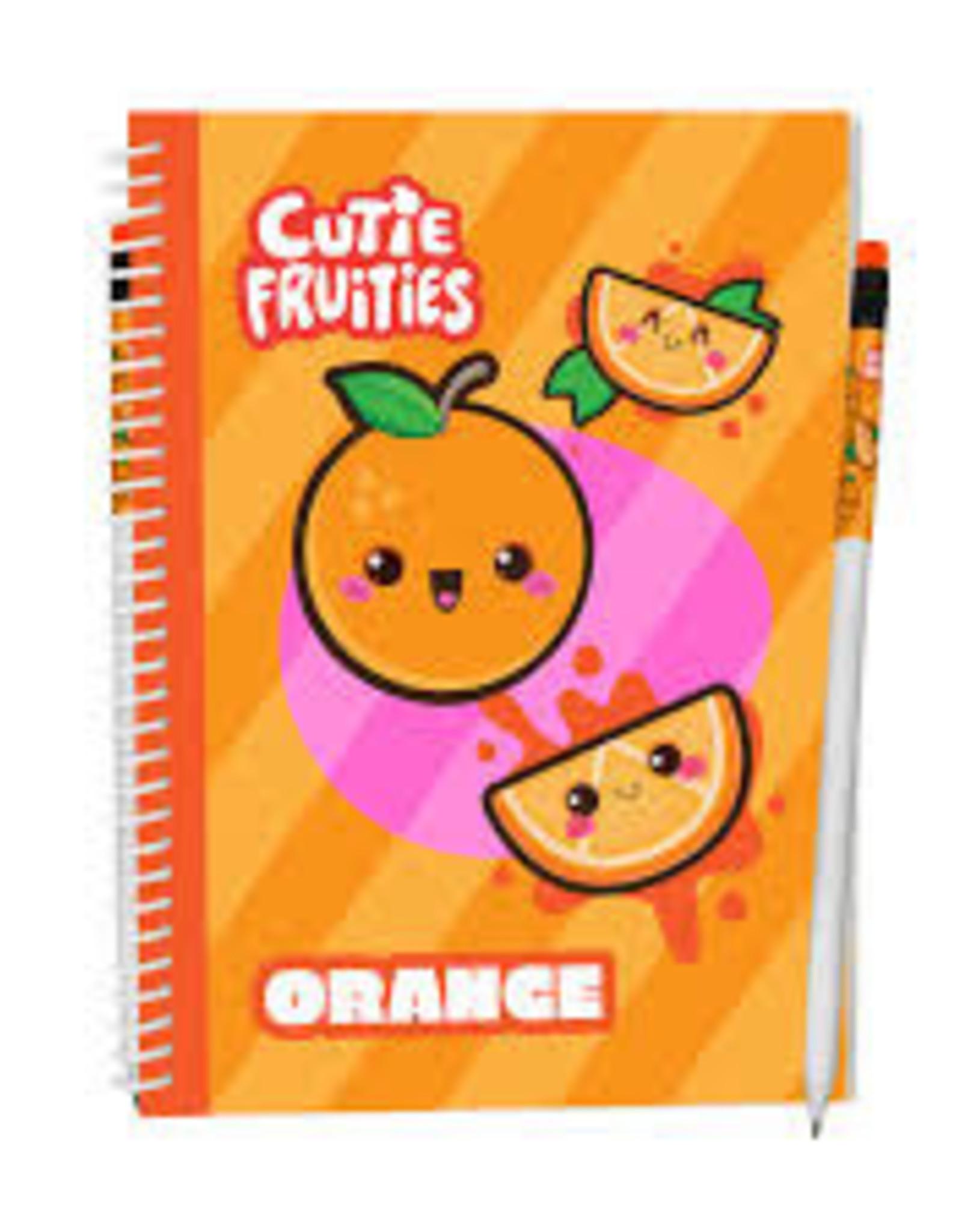 Cutie Fruities Sketch Pads - Orange