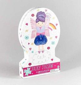 Floss & Rock Fairy Unicorn 20pc Jigsaw with Shaped Box