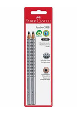 Faber Castell 2ct Jumbo Grip Graphite No. 2 (B) EcoPencils