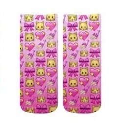 Living Royal Girly Emoji Ankle Socks