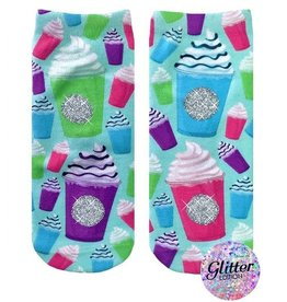 Living Royal Frappe Glitter Socks