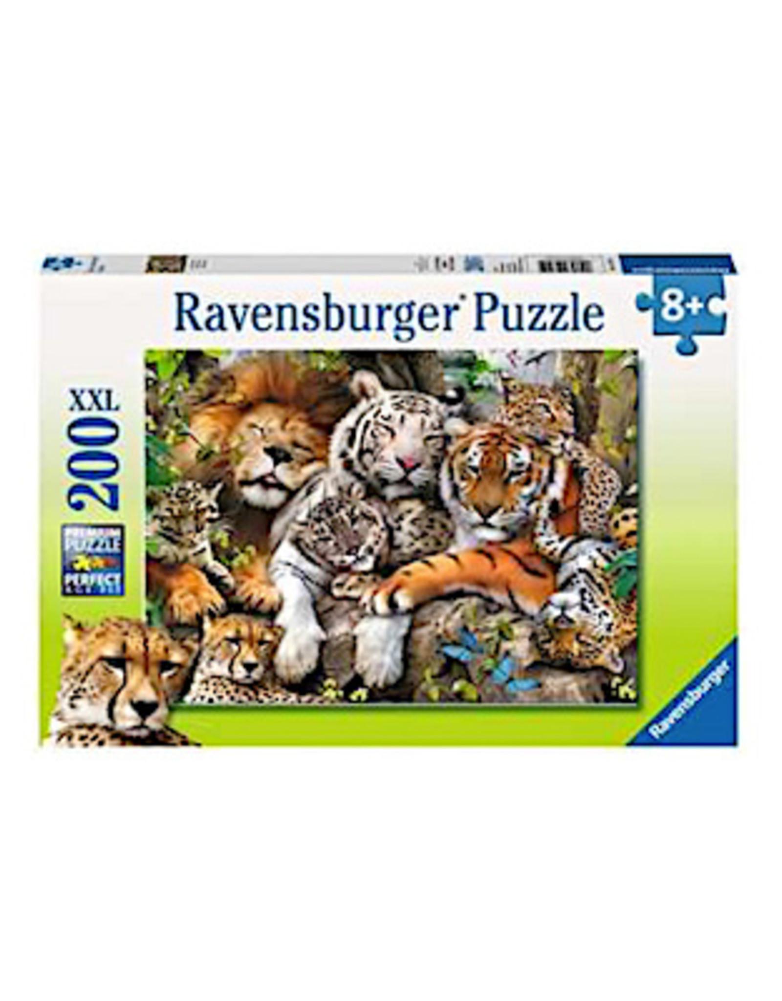 Ravensburger Big Cat Nap (200pc)