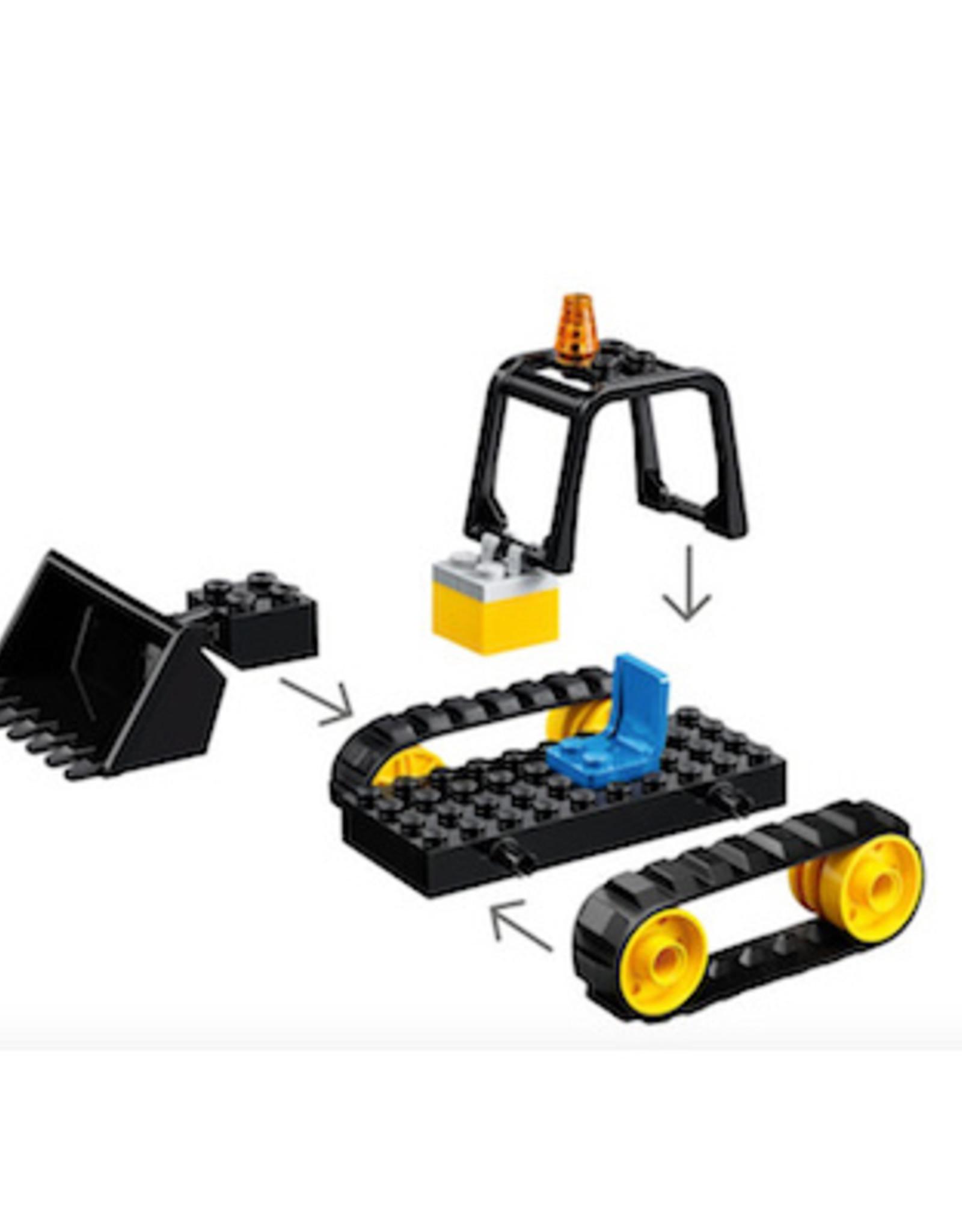 Lego City Vehicle Construction Bulldozer