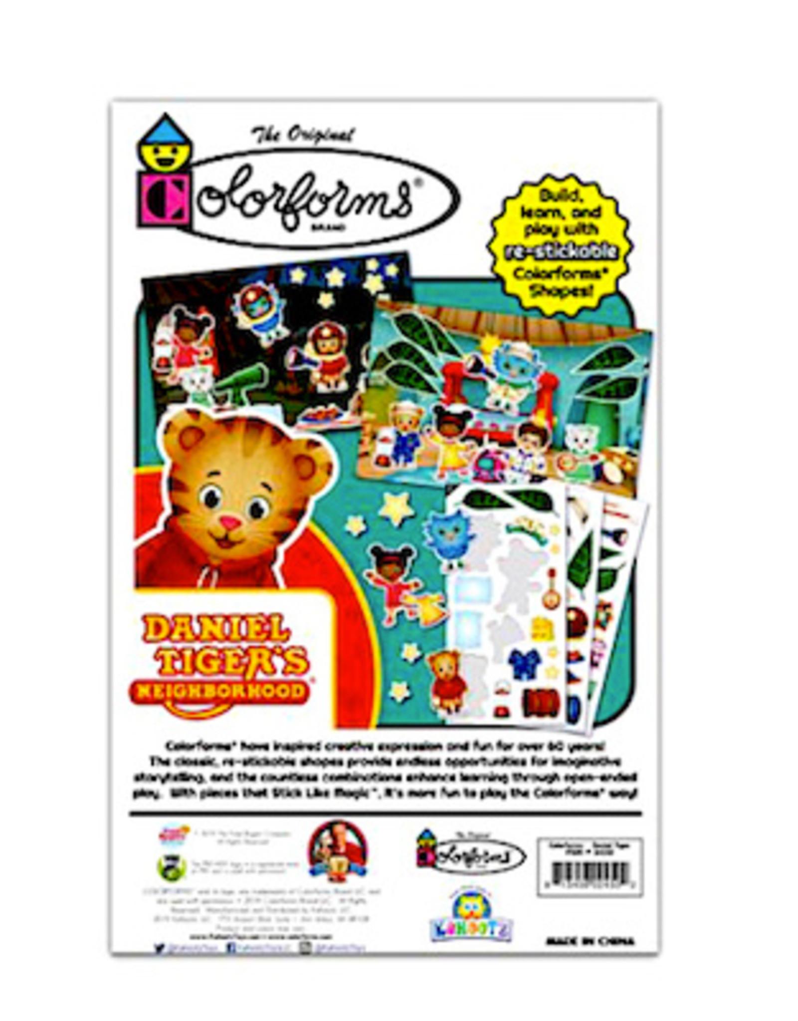 Colorforms Licensed Picture Play Set- Daniel Tiger