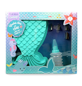 Handstand Kitchen Under the Sea Mermaid Cake Making Set